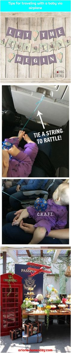 Tips for traveling with a baby via airplane - Graduation pictures,high school Graduation,Graduation party ideas,Graduation balloons Graduation Balloons, Graduation Banner, High School Graduation, Shower Banners, Printable Banner, Baby Shower Balloons, Graduation Pictures, And So The Adventure Begins, Traveling With Baby