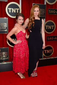 Maisie Williams Wishes Sophie Turner a Happy Birthday With the Cutest Throwback Photo