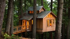 In this short documentary, we interview people who build, live in, and love treehouses. These are far from the forts of childhood memory, though.