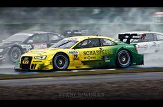 #DTM Hockenheim #Audi Schaeffler #AudiHuntValley