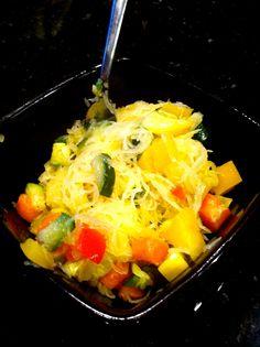 @fuel sweat grow: spaghetti squash primavera #cleaneating #fitfoods #glutenfree @fuelsweatgrow
