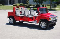 Custom Limo Golf Carts Hummer H3, Hummer Golf Cart, Golf Cart Bodies, Golf 6, Custom Golf Carts, Golf Club Grips, Golf Trolley, Toy Cars For Kids, Golf Videos