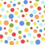Michael Miller, multi color random dots