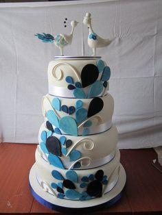 ideas divertidas para torta (boda) Índigo Bodas y Eventos