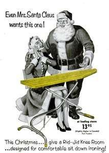 Santa Vintage Ad