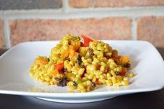Curried Barley Salad | The Inventive Vegetarian