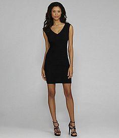 Calvin Klein Woman Lace Sheath Dress #Dillards Plus size | Wedding ...