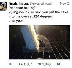 why is this so damn accurate? Exo Ot12, Exo Chanyeol, Kyungsoo, Funny Kpop Memes, Exo Memes, Chansoo, Chanbaek, Exo Facts, Xiuchen
