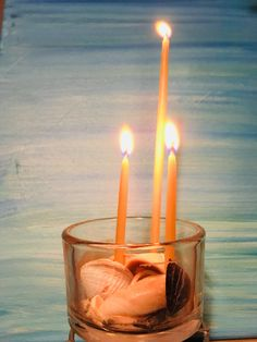 Honey Candles