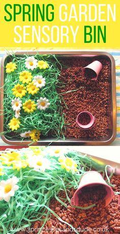 Spring Garden Sensory Bin