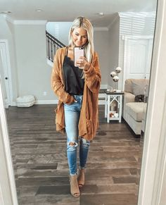 Style casual winter woman fall fashion Ideas for 2019 Style Outfits, Fall Fashion Outfits, Autumn Fashion Casual, Autumn Winter Fashion, Trendy Fashion, Casual Winter, Womens Fashion, Fashion Fashion, Fashion Lookbook