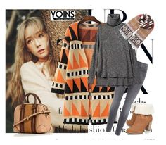 """Yoins 5/3"" by dijanam97 ❤ liked on Polyvore featuring J Brand, UGG Australia, winter2015 and yoins"