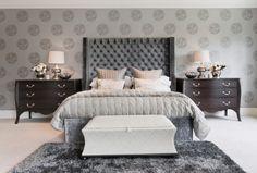 20 Beautiful Gray Master Bedroom Design Concepts   Pinkous
