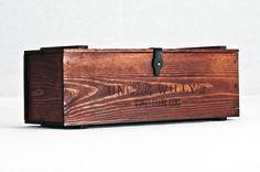 A wood box