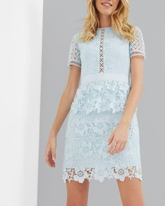 Ted Baker DIXA Layered lace dress #ad