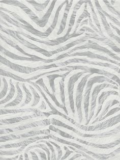 Zebra wallpaper will add a touch of animal magnetism to any room, this bold wallpaper design will make a real impact yet with its subtle colour palette and the use of mica inks make this a really interesting choice that will add a whole new dimension to your walls.Can be sponged cleaned. Each roll 52 cm wide and 10m long. 64 cm design repeat. Unused rolls can be returned if they remain unopened. Paste the wall. Other colours available. Colour: White/Grey.