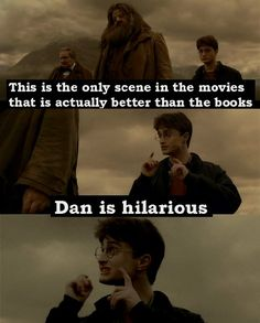 This part really is hilarious! Dan is perfect as Harry <3