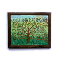 Embroidery Tree Of Life Pictures 49 Best Ideas Tree Of Life Pictures, Fabric Pictures, Bird Sculpture, Lettering Tutorial, Applique Patterns, Hanging Art, Flower Tutorial, Textile Art, Embroidery Stitches
