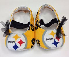 Steelers Baby Clothes Pittsburgh Steelers Baby Slipper Boot  When We Have Little Ones