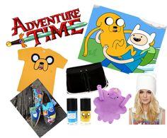 """""""Adventure Time JimJams!"""" by the-jade-midget ❤ liked on Polyvore"""