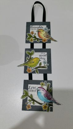 Best birds by stampin up