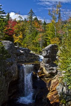 Screw Auger Falls, Grafton Notch, Maine, USA