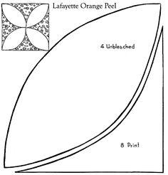[ Lafayette Orange Peel Patchwork Quilt Pattern Purple Kitty ] - Best Free Home Design Idea & Inspiration Patchwork Quilt Patterns, Quilt Block Patterns, Applique Quilts, Pattern Blocks, Quilt Blocks, Quilting Templates, Quilting Tips, Quilting Tutorials, Quilting Designs