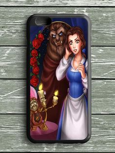 Beauty And The Beast Cartoon Belle iPhone 6S Plus Case
