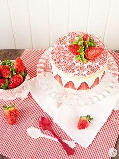 Jaleo en la Cocina: La tarta reina... ¡Tarta Fraisier!