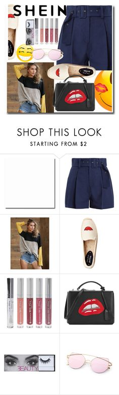"""""""SHEIN"""" by mina-beauty ❤ liked on Polyvore featuring Sea, New York, Forever 21 and Mark Cross"""
