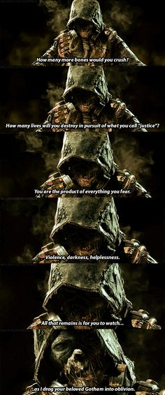 Scarecrow from the new Arkham Knight game