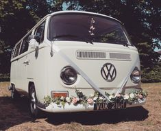Hire one of our vintage vans for your wedding!
