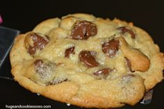 Caramel Filled Chocolate Chip Cookies - Hugs and Cookies XOXO