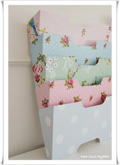Best looking magazine rack ever! Pip Studios is so fabulously cute. I could pin it all.