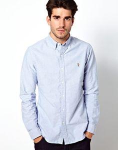Polo Ralph Lauren Plain Oxford Slim Fit Shirt $154.02
