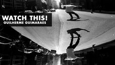 Skateboarding, filmmaking, and media as a whole live and die by the quality of ideas. The best ideas don't always come from the most famous, and the best work doesn't always come from the biggest budget. Guilherme Guimaraes from Sao Paulo sent in this video he filmed on a GoPro and we're happy to show it to the world.