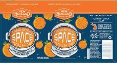 New Holland Tangerine Space Machine NE IPA headlines 2018 beer lineup changes