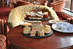 Our wonderful afternoon Tea Selection....