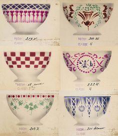 Latte bowl decoration options