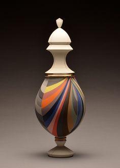 Pieza de cerámica de Peter Pincus