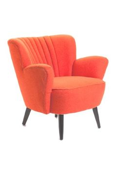 Moe's Home Collection Moro Club Chair Cool orange chair! Love Chair, Moe's Home Collection, Piece A Vivre, Take A Seat, Club Chairs, Dining Chairs, Home Collections, Decoration, Home Furniture