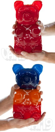World's Largest Gummy Bear: 10 flavors