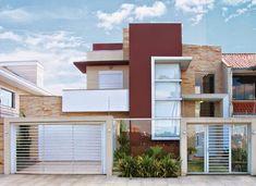 Decor Salteado - Blog de Decoração | Arquitetura | Construção | Paisagismo: 20 Fachadas de casas modernas com muros e portões!