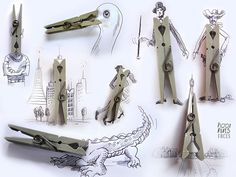 Imaginative 3D Illustrations Made From Everyday Objects by Victor Nunes   Marvelous