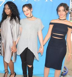 Lauren and Camila at the M&G in St Louis ❤ Ally Brooke, Fifth Harmony Camren, Jane Hansen, Camila And Lauren, Dinah Jane, Beautiful Love Stories, Beautiful Women, Confident Woman, Uk Fashion