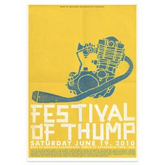 Festival of Thump - Deus ex Machina poster