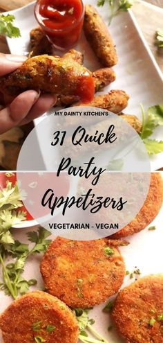31 Easy & Quick Veg Party Appetizers - Appetizer - Appetizers for party 31 Easy. 31 Easy & Quick Veg Party Appetizers – Appetizer – Appetizers for party 31 Easy & Quick Veg Pa Veg Appetizers, Indian Appetizers, Appetizer Recipes, Indian Vegetarian Appetizers For Party, Indian Snacks For Kids, Easy Party Appetizers, Party Appetisers, Appetizer Ideas, Sandwich Recipes