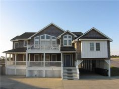 Caribbean Breeze.  Fabulous ten-bedroom Outer Banks beach home perfect for reunions and large families vacationing on the Outer Banks! You have easy access to the beach with a wooden walkway from  ...
