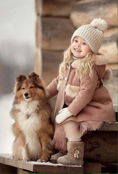 15 Ideas For Children Friends Pets Dogs And Kids, Animals For Kids, Baby Animals, Cute Animals, Child And Dog, So Cute Baby, Beautiful Children, Beautiful Babies, Baby Pictures