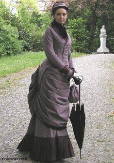 Victorias Enkel - Küraßmode Promenadenkleider